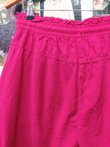 Vintage 1980's You Not Hot Pink Shorts