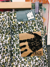 ZiGGY.DENIM Sticks and Bones Leopard Print Mid Rise Skinny Leg Jeans