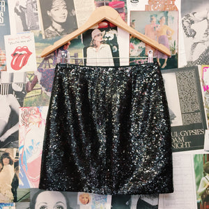 Designer AX Armani Exchange Sequin Mini Skirt