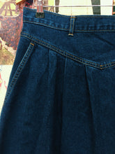 Vintage Blues Union Dark Blue Denim Skirt