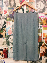 Vintage 1980's Marshal Gerald Ashley Gingham Wrap Maxi Skirt