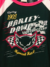 Racing 1903 Harley Davidson Motorcycles Speed Kat Raglan