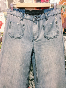 Rangers High Waist Ultra Wide Leg Jeans