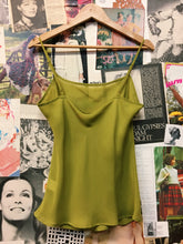 Lime Green Sheer Slip Cami