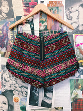Urban Outfitters Ecote Festival Tapesty Aztec Shorts