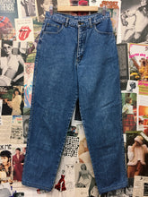 Vintage 1980s Corfu High Waist Blue Denim Mom Jeans