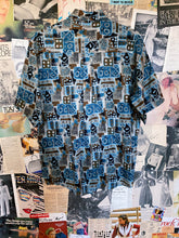 Vintage 1990s Retro Art Deco Print Shirt