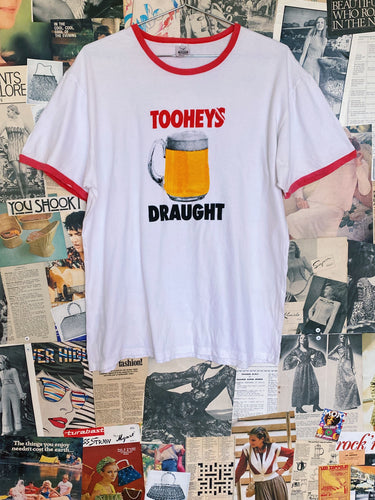 Tooheys Draught Beer Graphic Ringer Tee