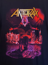 Anthrax World Tour Metal Band Graphic Tee