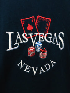 Las Vegas Nevada Embroidered Graphic Logo T-Shirt