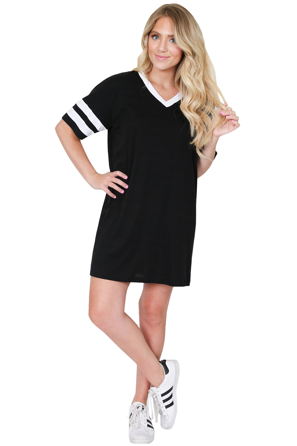 Black Baseball Dress