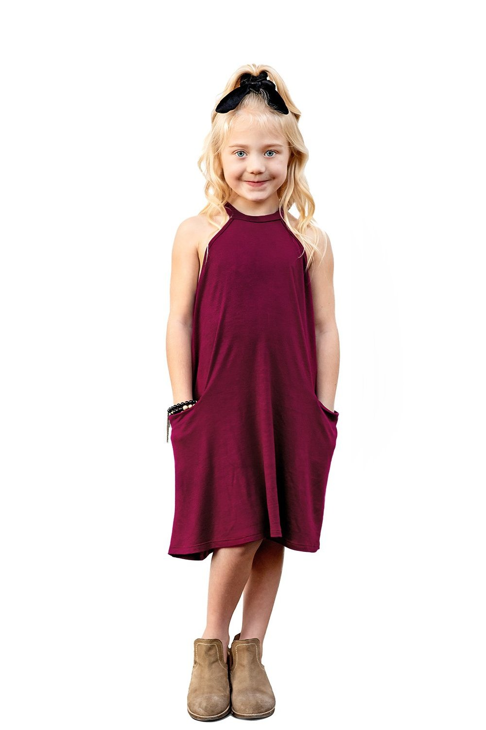 Merlot Cold Shoulder Mini Dress