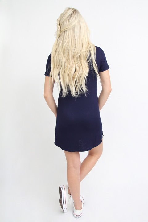 Navy Tee Shirt Dress