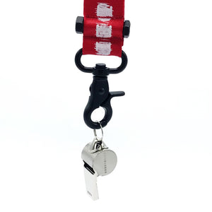 Noise Whistle Lanyard Red