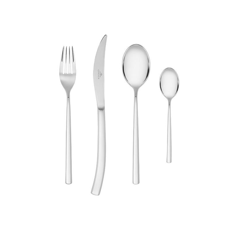 PIANO 24 Piece Stainless Steel Flatware Set