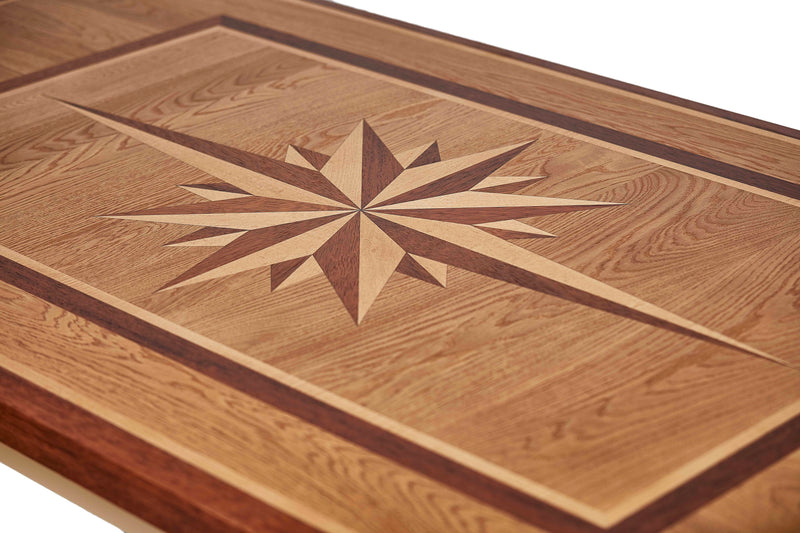 WIND ROSE Wood Dining Table