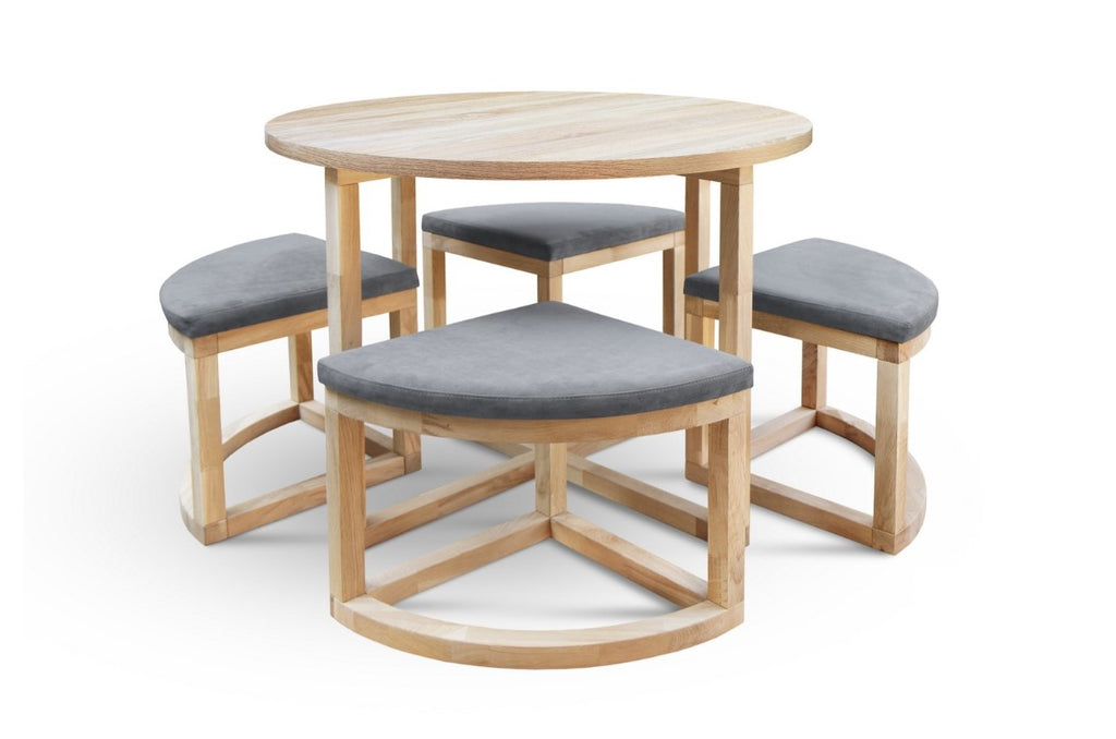 MIRAGE-R Wood Dining Set