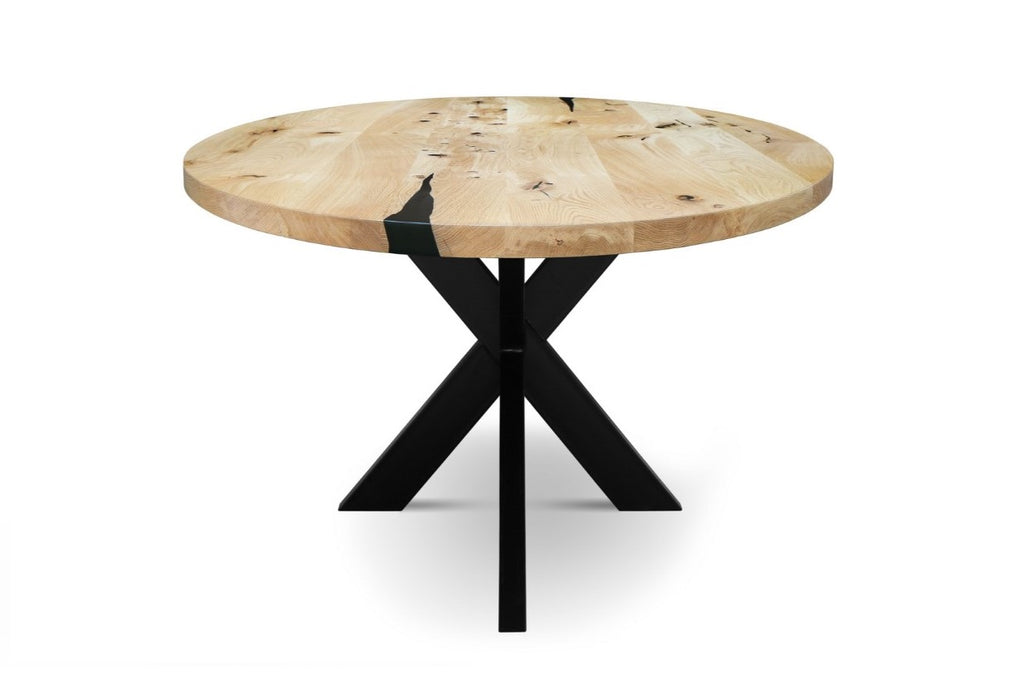 RONDA-XM Solid Wood Dining Table