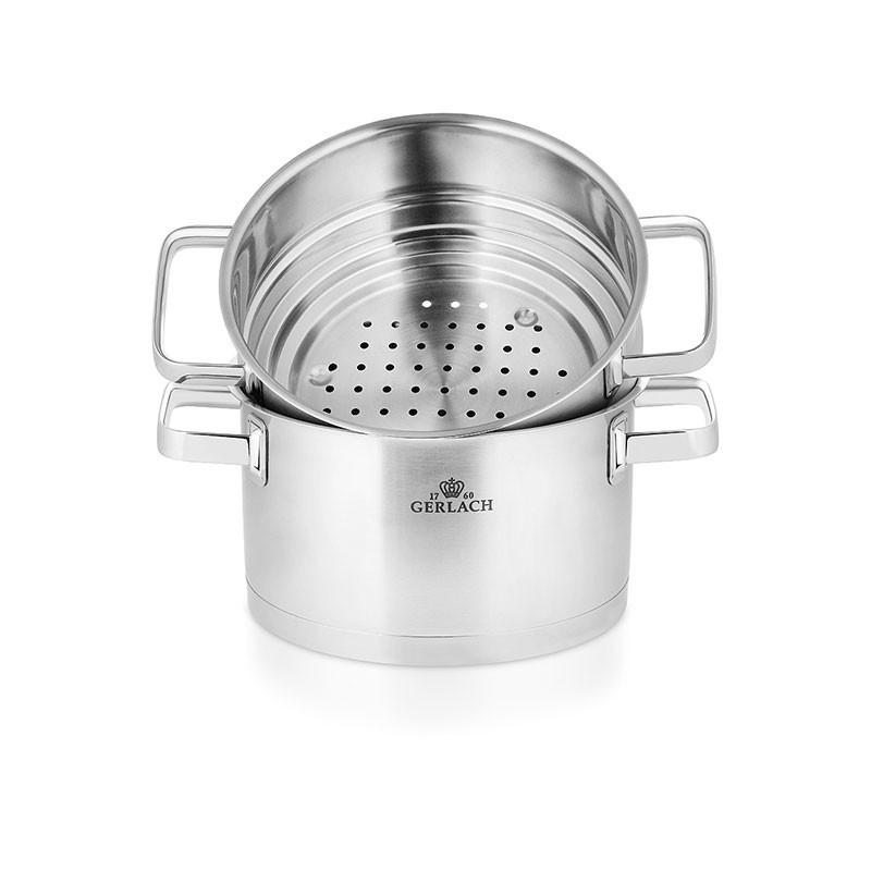 PRESTIGE Stainless Steel Pot Set With Lids 9 pcs