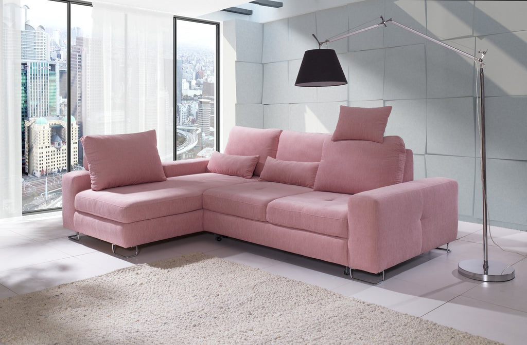 ASTI Sectional Sofa Left Facing Chaise