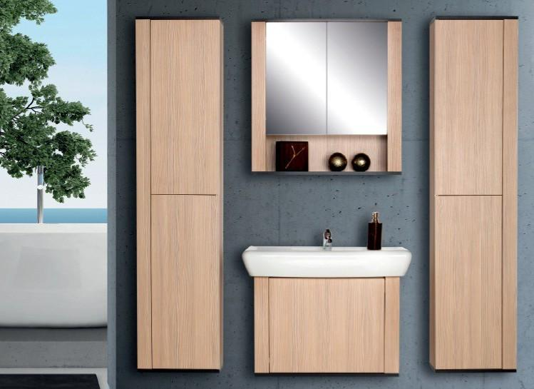 "CAPAL 31"" Single Bathroom Vanity Set with Mirror and Cabinet 4 Piece"