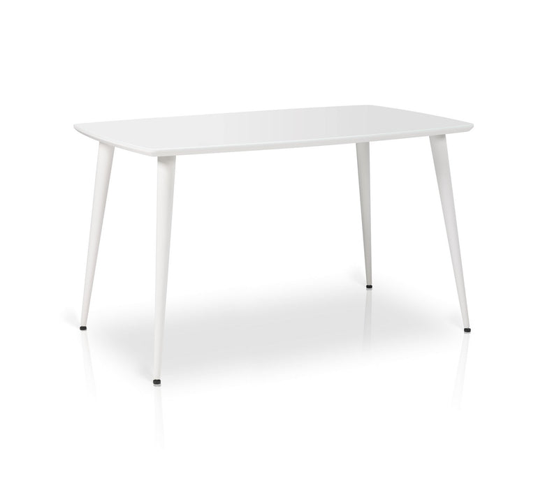 ESSAI Rectangular Glass Top Dining Table