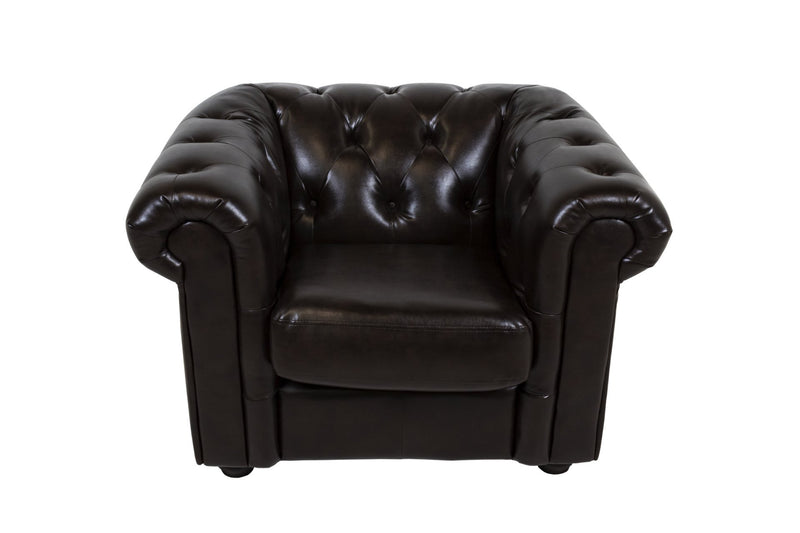 HEMMINGWAY Tufted Chesterfield Chair