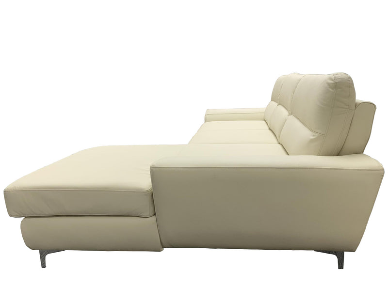 TIVOLI Leather Sectional Sleeper Sofa, Right Corner