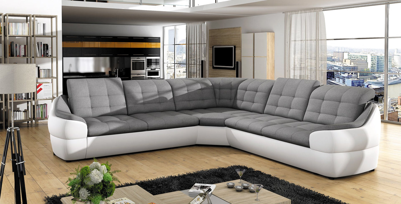 INFINITY L Sectional Sofa – Maxima House