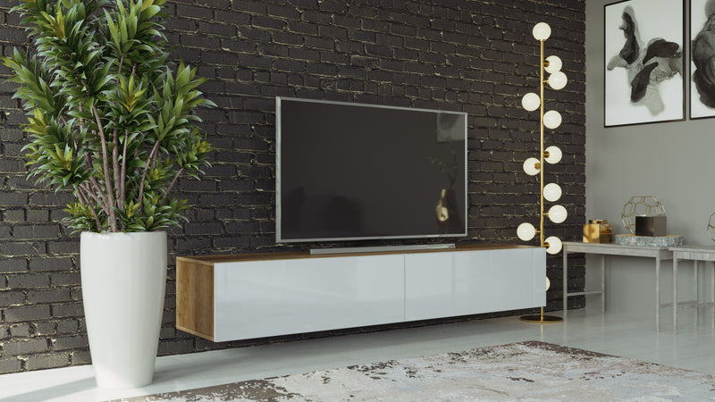 "Modern floating 71"" long VIGO RTV TV Stand"