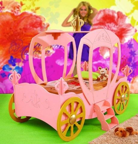 Princess Carriage Toddler Car Bed