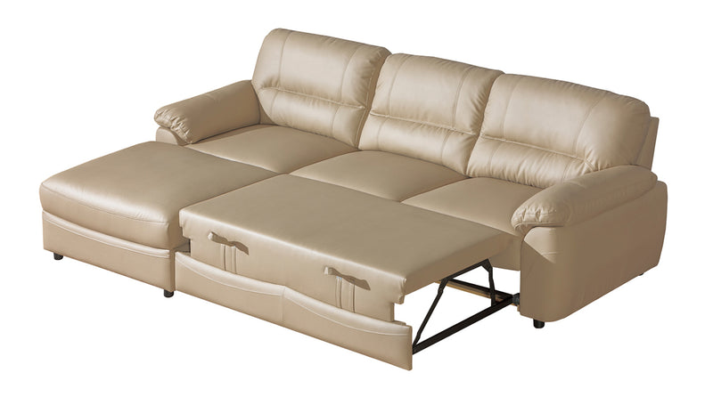 BALTICA 1 Eco Leather Sleeper Sectional