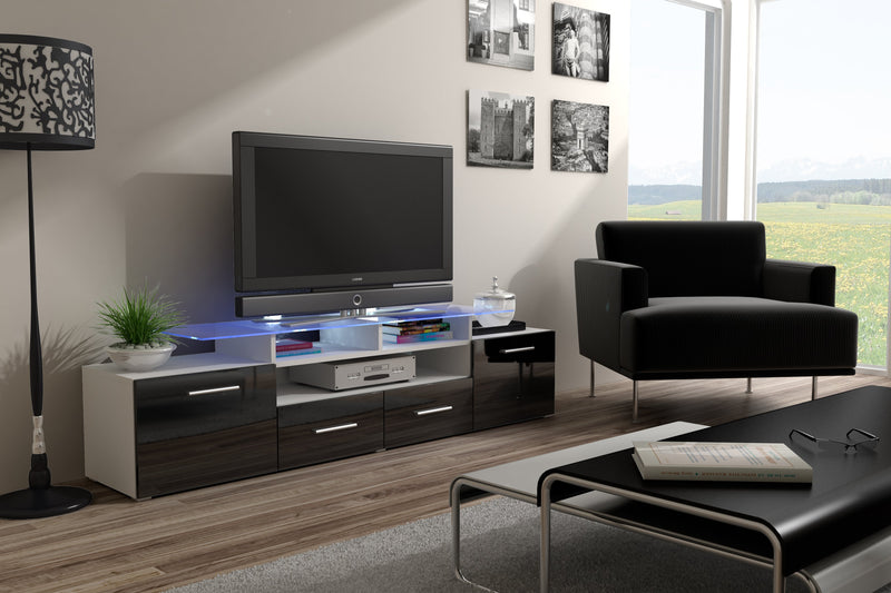 "EVORA modern TV Stand for up to 65"" TV's"