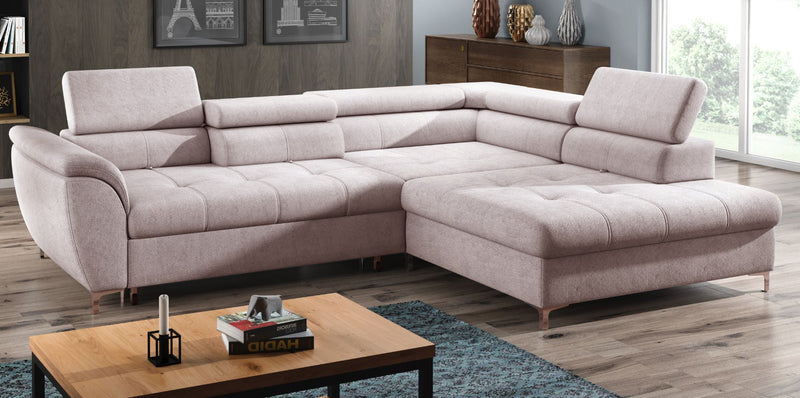 Tempo Right Facing Sleeper Sectional