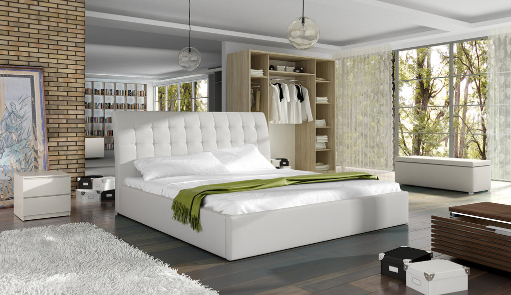 TERASSO Platform Bed, European King Size