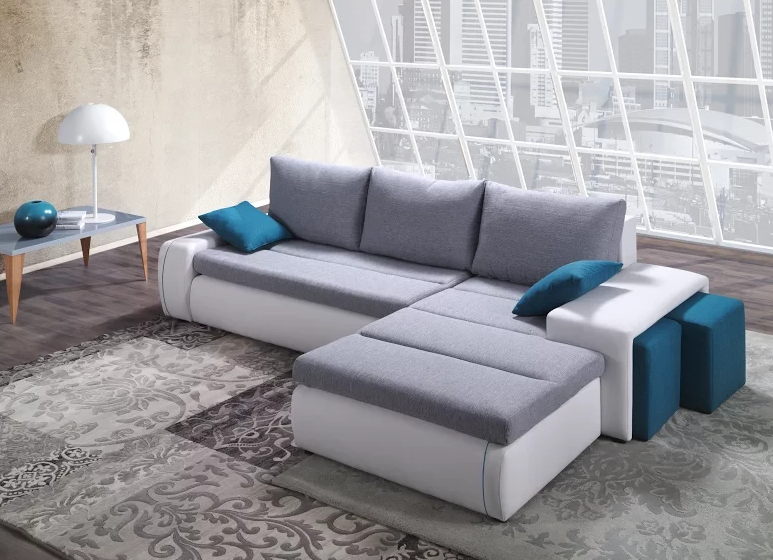 RITMO Sectional Sofa with Right Facing Chaise