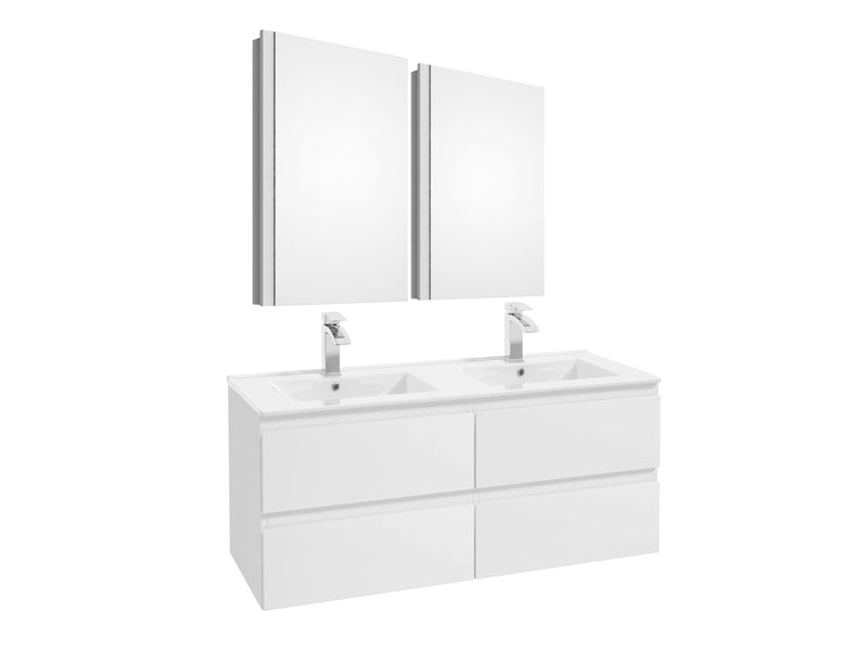 COMO Double Sink Bathroom Set