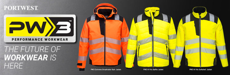 How Portwest's Workwear is keeping the country working with the PW3 Extreme Breathable High Visibility Jacket and Trousers.