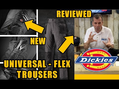 The Dickies FLEX Universal Holster Trousers and Lead In Flex Trousers