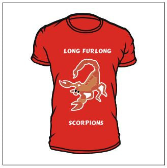 Long Furlong T Shirts House Captain on Rear
