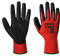 Portwest General Purpose Gloves Red Grip - PU Palm Coating A641