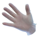 A900 - Powdered Vinyl Disposable Glove  Clear