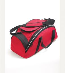 AWC Sports Student Holdall Black/Red (LV986)