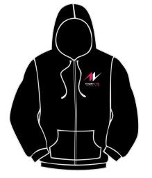 AVTC Mens Zip Through Hoodie