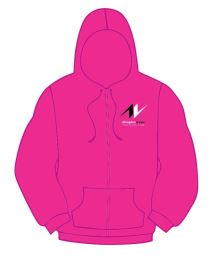 AVTC Ladies Zip Through Hoodie