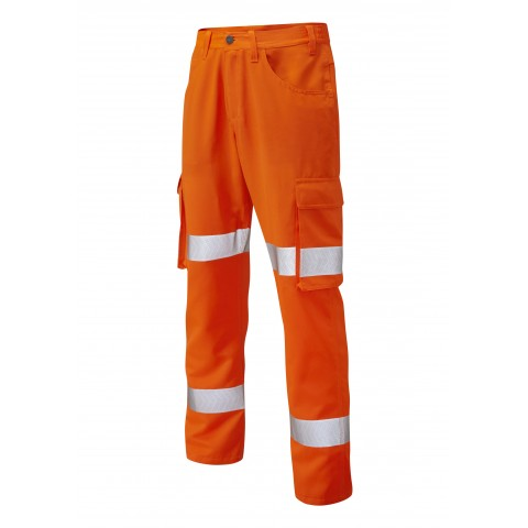 YELLAND ISO 20471 Cl 1 Lightweight Poly/Cotton Cargo Trouser
