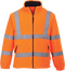 F300 - Hi-Vis Mesh Lined Fleece Orange