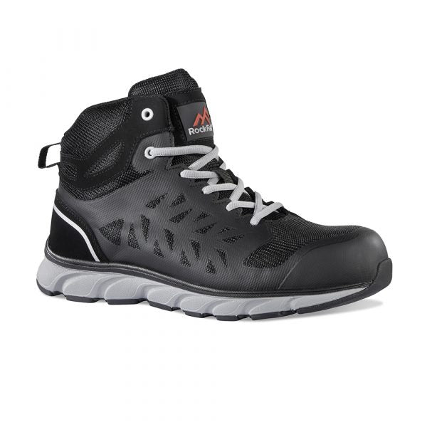 Rock Fall RF115 Bantam Lightweight Breathable Mid-Cut Safety Boot