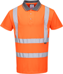 RT22 - Hi-Vis Short Sleeved Polo RIS Orange