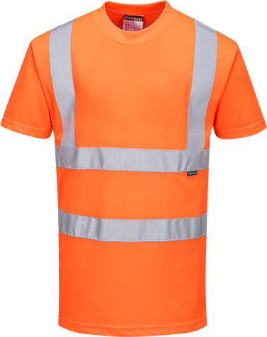 RT23 - Hi-Vis T-Shirt RIS Orange